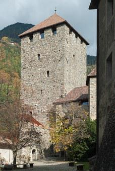 Tirol, Castle, Tyrol, Meran, Italy, Landmark, Old