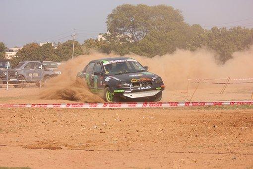 Car, Rally, Race, Moter, Motor, Automobile, Racing