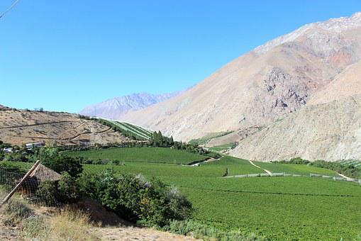 Mountain, Chile, Elqui, Pisco