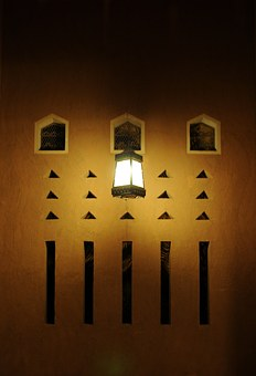 Mud, Old, Saudi Arabia, Traditional, Mud House, Light