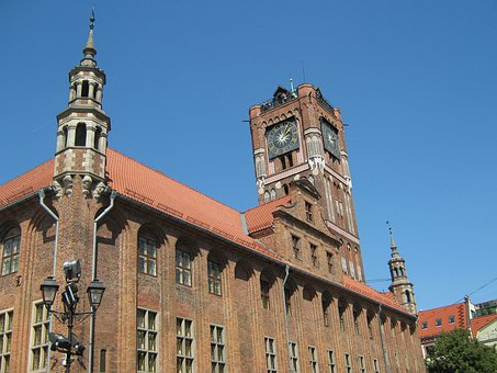 City, Toruń, Poland, Museum In The Old Town