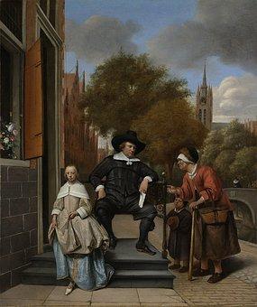 Burgemeester Van Delft, Croeser, Painting, Image, Oil