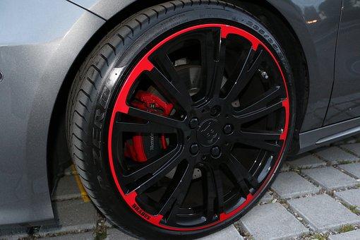 Vehicle, Wheels, Pneu, Braking System
