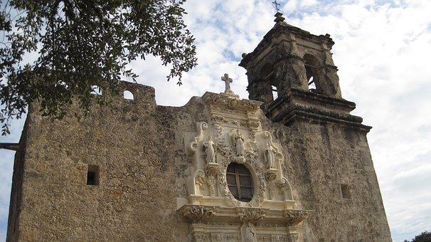 Mission San Jose, San Antonio, Historical, Architecture