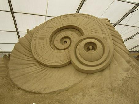 Sand World, Sand Sculpture, Time Lord, Dr Who, Sand Art