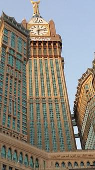 The Clock Tower In Makkah, Saudi Arabia