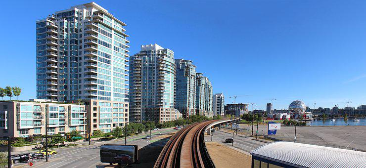 Vancouver, Sky-train, Canada, Commuter, Transit