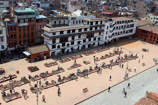 Basantarpur, Square, Kathmandu, Nepal, Durbar, City