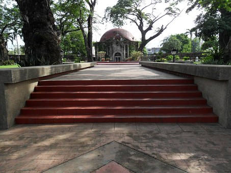 Paco Park, Park, Stairs, Church
