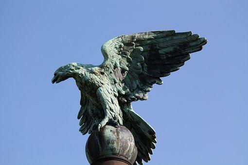 Monument, Adler, Raptor, Statue, Bird, Griffin, Symbol