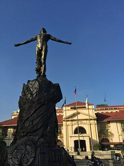 Statue, Open Arms, University Of The Philippines