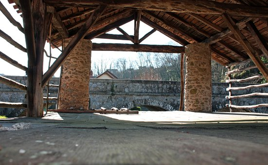 Tannery, Wooden Tannery, Old French Tannery