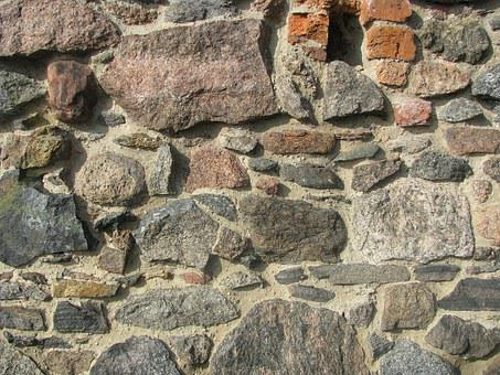 The Stones, Castle Wall, Monument, Toruń