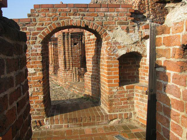 Crusaders, The Ruins Of The, Toruń, Monument, The Walls
