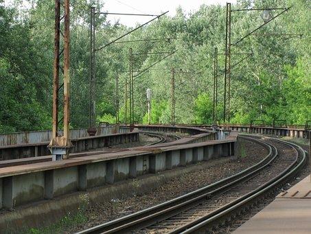 Tracks, Tourism, Railway, Toruń