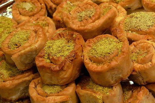 Arab Sweets, Bazar, Moroccan Food, Tunisian Food