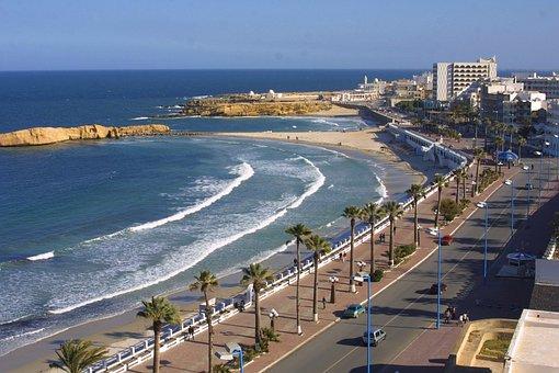 Al Qurayyah, Saudi Arabia, Sea, Ocean, Water, Beach