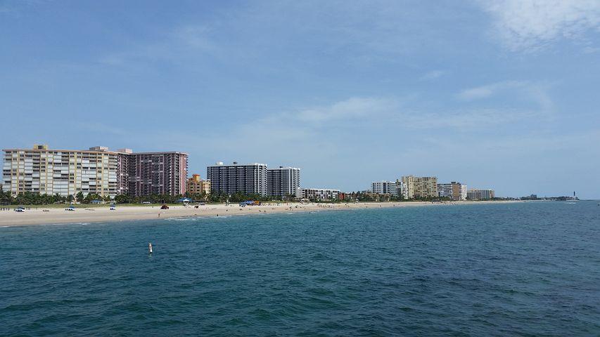 Florida, Condos, Ocean, Beach, Water, Waterfront