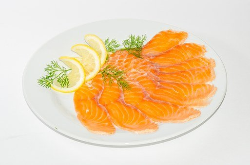 Food, Meat, Fried Meat, Frying, Fish, Wedges, Lemon