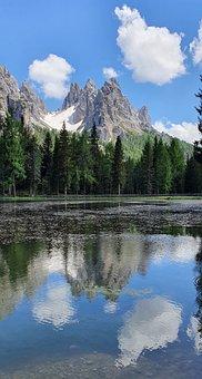 Lake, Mountains, Countryside, Nature, Scenery, Alpine