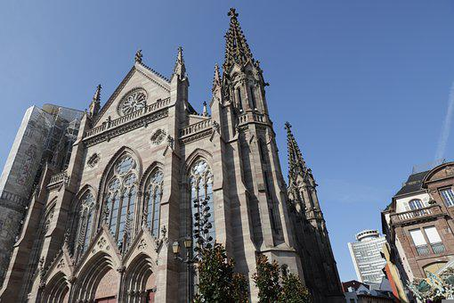 Cathedral, Church, Architecture, Building, Structure