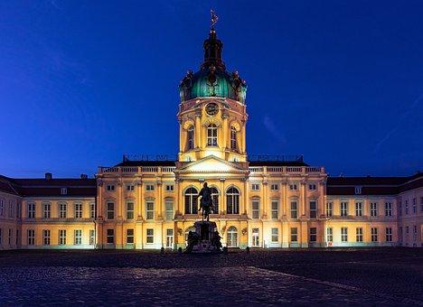 Charlottenburg Palace, Palace, Building, Architecture