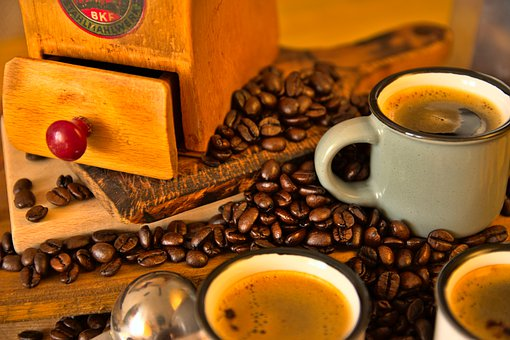Coffee, Product Photography, Coffee Beans, Cups