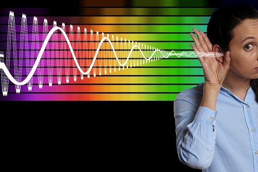 Woman, Ear, Equalizer, Frequency, Technology, Colorful