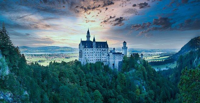 Fairy Tale Castle, Castle, Fortress, Citadel