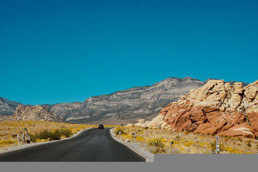 Road, Highway, Mountain, Car, Drive, Trip, Journey