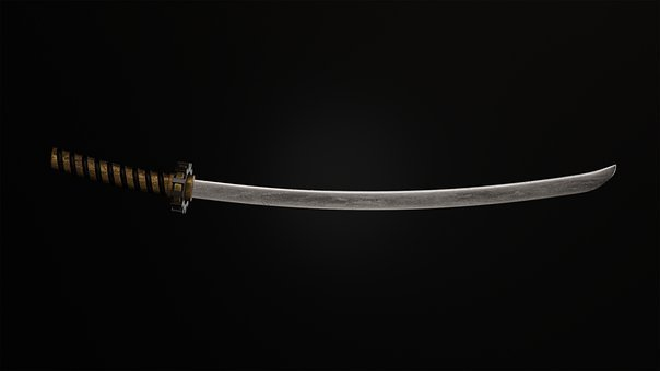 Katana, Sword, Weapon, Japanese Sword
