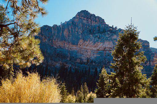 Landscape, Mountain, Cliff