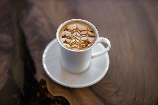 Coffee, Latte, Latte Art, Foam, Milk Foam