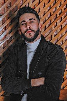 Man, Fashion, Model, Bearded Man, Young Man, Stylish