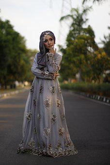 Model, Hijab, Girl, Muslim, Woman, Female, Portrait