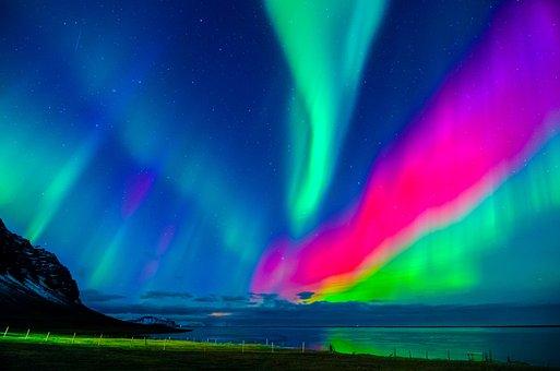 Aurora Borealis, Northern Lights, Natural Phenomenon