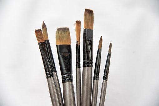 Art Supplies, Paint Brushes, Art Materials, Art Tools