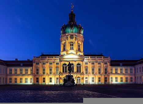 Charlottenburg Palace, Palace, Building