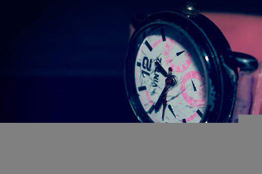 Wristwatch, Watch, Time, Broken, Glass, Fashion