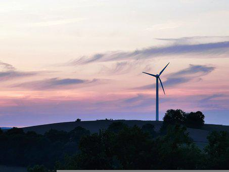 Windmill, Wind Turbine, Wind Power, Wind Energy, Field