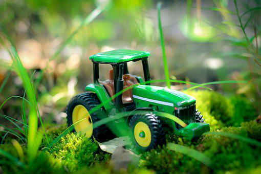 Tractor, Toys, Miniature, Agriculture