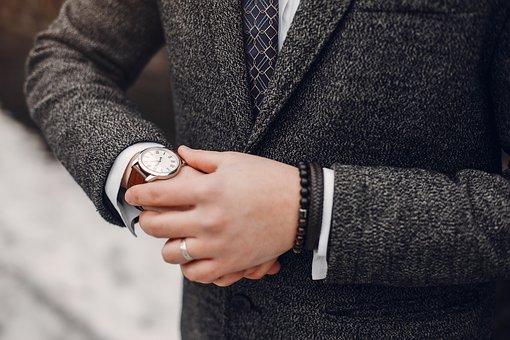 Watch, Ring, Suit, Bracelets, Accesories, Man, Male