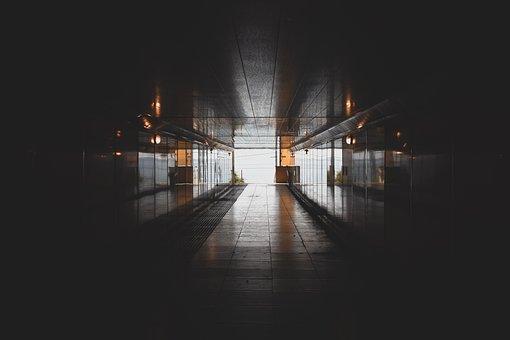 Corridor, Hallway, Passage, Built Structure