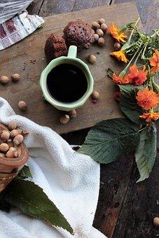 Coffee, Coffee Cup, Caffeine, Cup Of Coffee, Flowers