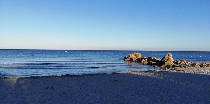 Seascape, Sea, Beach, Water, Coast, Coastline, Shore
