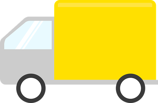 Delivery, Truck, Icon, Vehicle, Delivery Truck