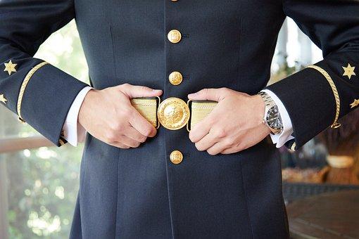 Man In Uniform, Military, Uniform, Police, Man, Soldier