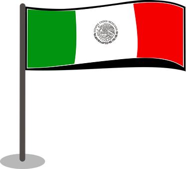 Flag, Mexico, Symbol, National, Country, Nation