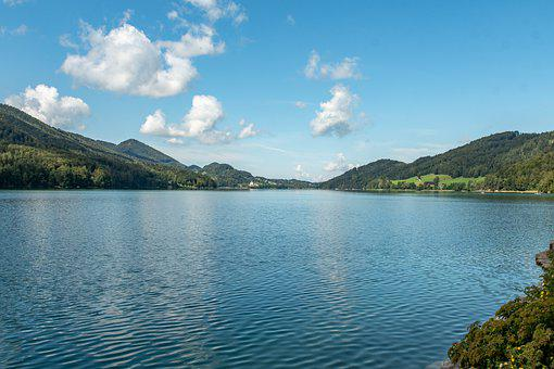 Waterscape, Lake, Nature, Water, Mountains