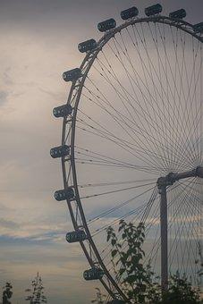 Ferris Wheel, Observation Wheel, Amusement Ride